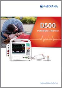 Defibrilator Mediana d500 katalog