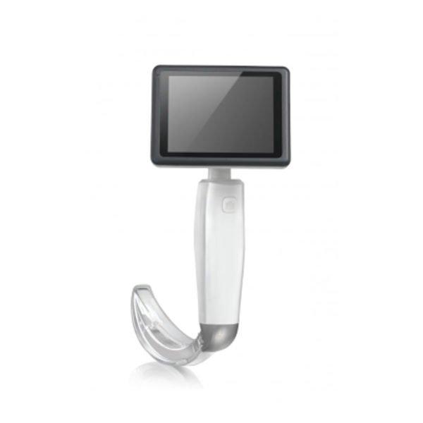 Hugemed video laryngoskop z lopaticami za enkratno uporabo