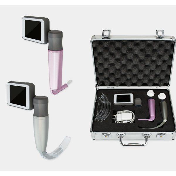 HUM videolaringoskop z lopaticami za enkratno uporabo